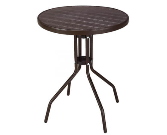 Patio PP Plastic Round Table