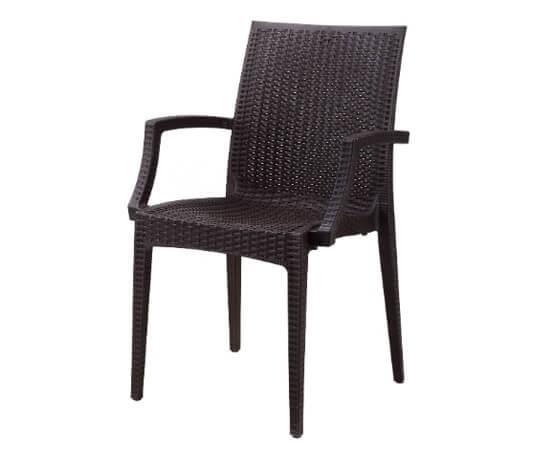 Plastic Wicker Rattan Chair