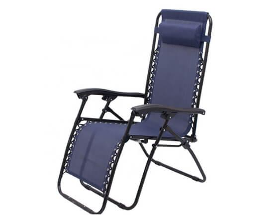 Steel Folding Beach Reclining Chair