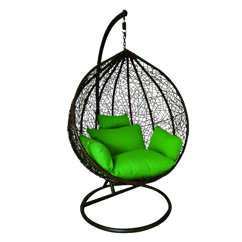 Outdoor Patio Rattan Wicker Egg Swing Chair