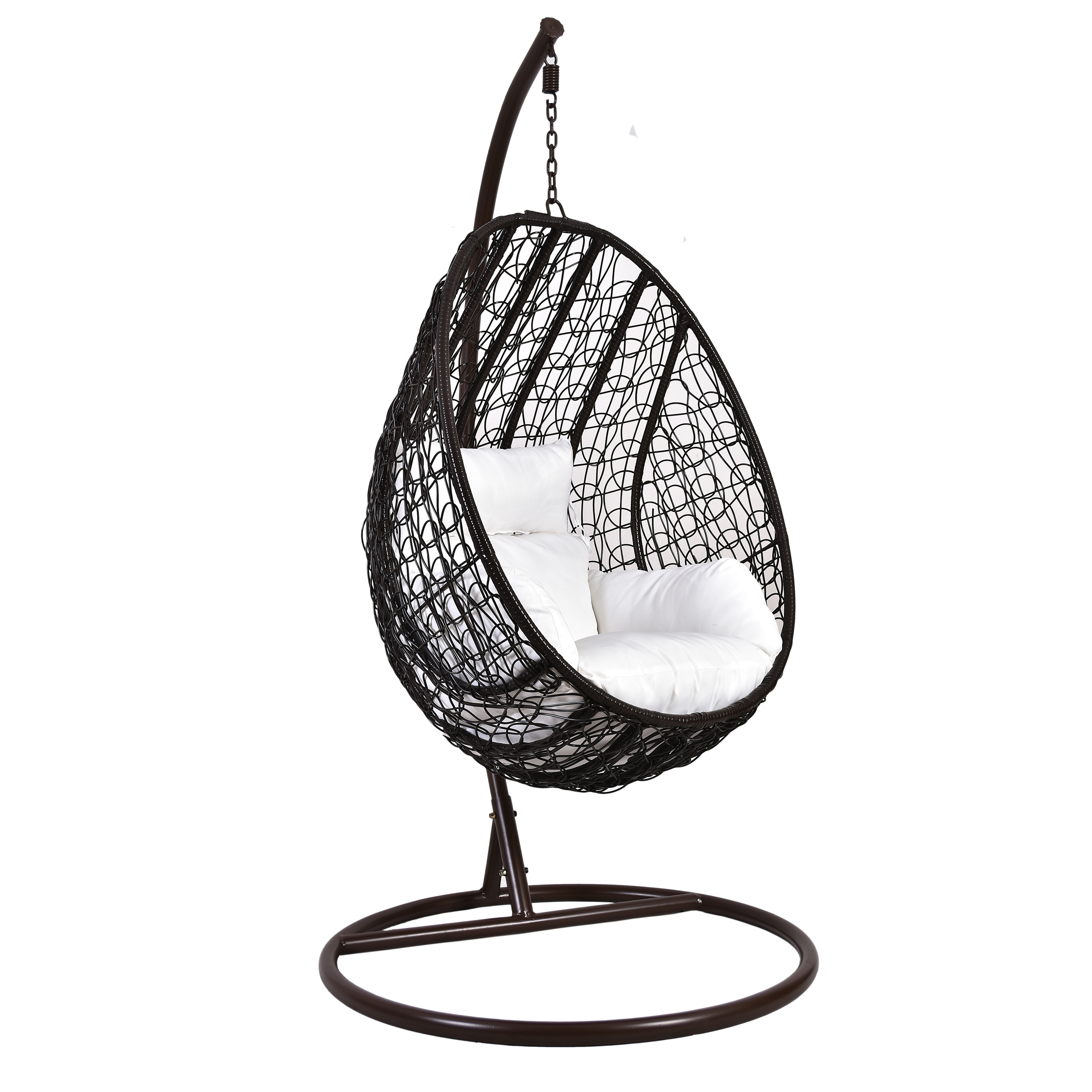 Egg Shaped Swing Chair With Cushion