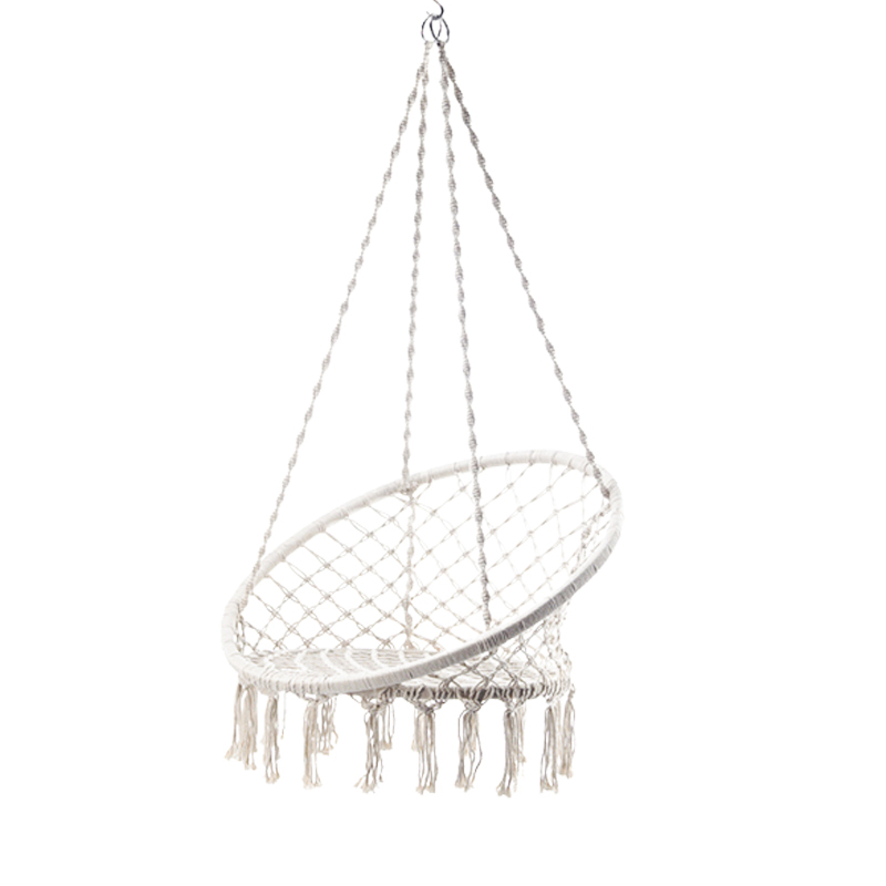 Rope Macrame Hammock Swing Chair