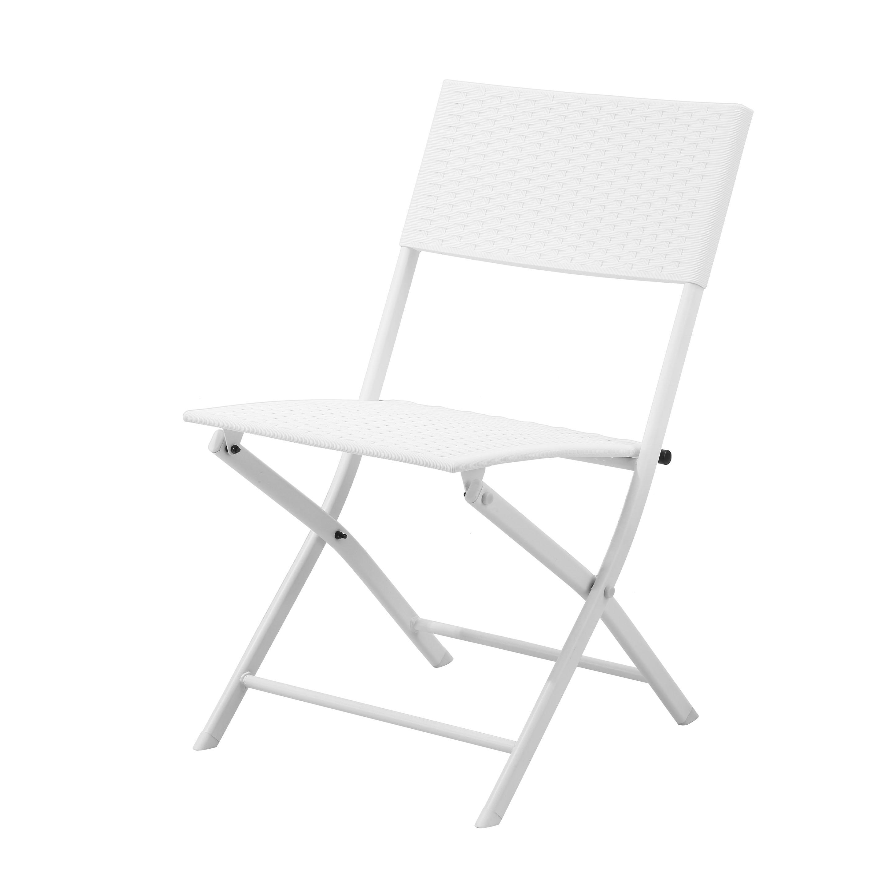 White Plastic Folding Chairs