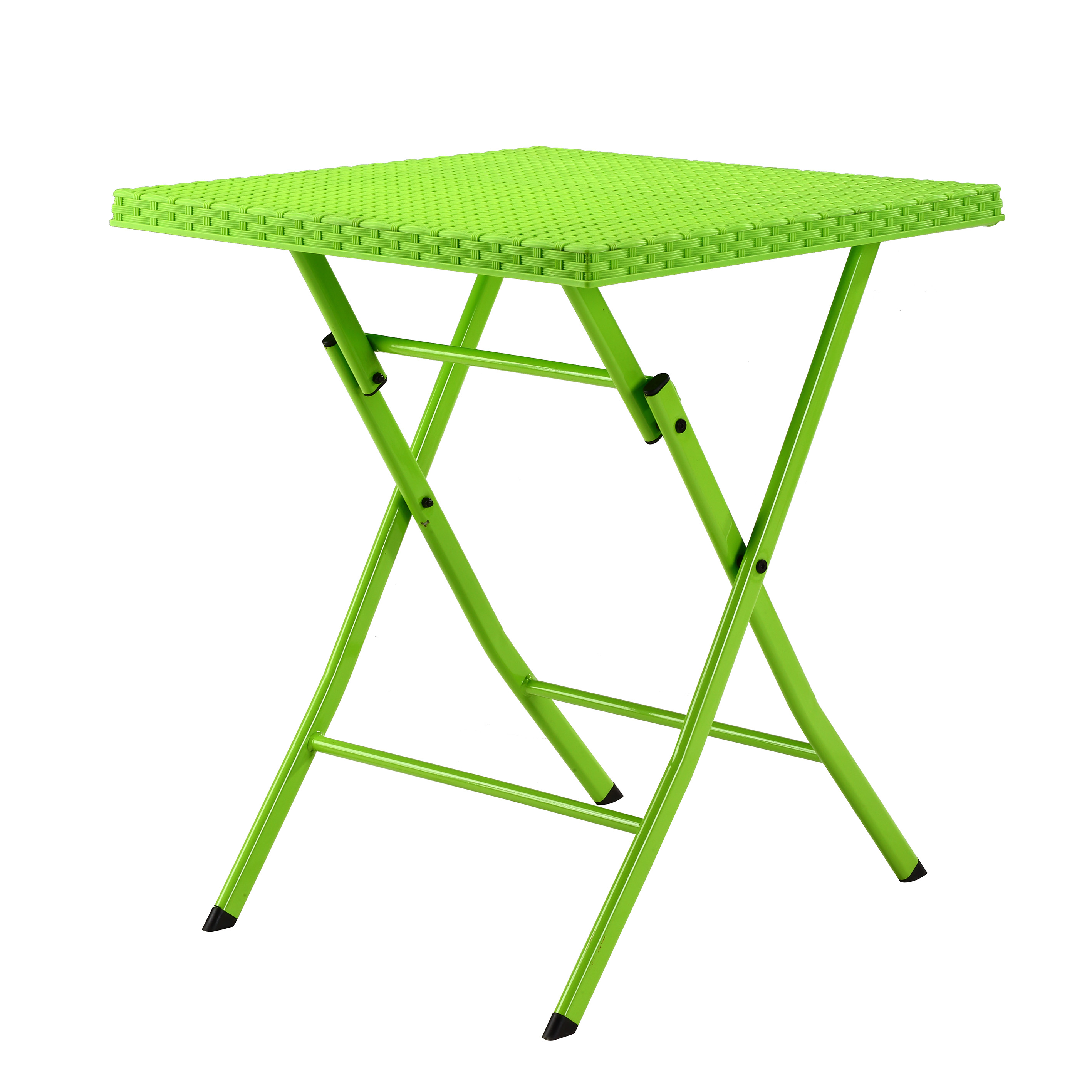 Green Folding Plastic Table