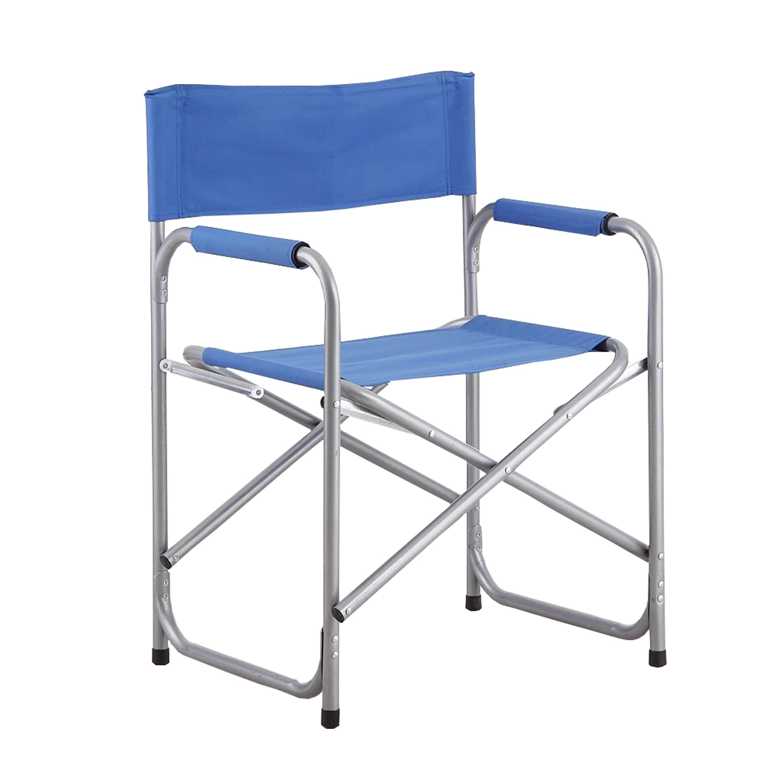Lightweight Folding Beach Chair In Aluminium Metal
