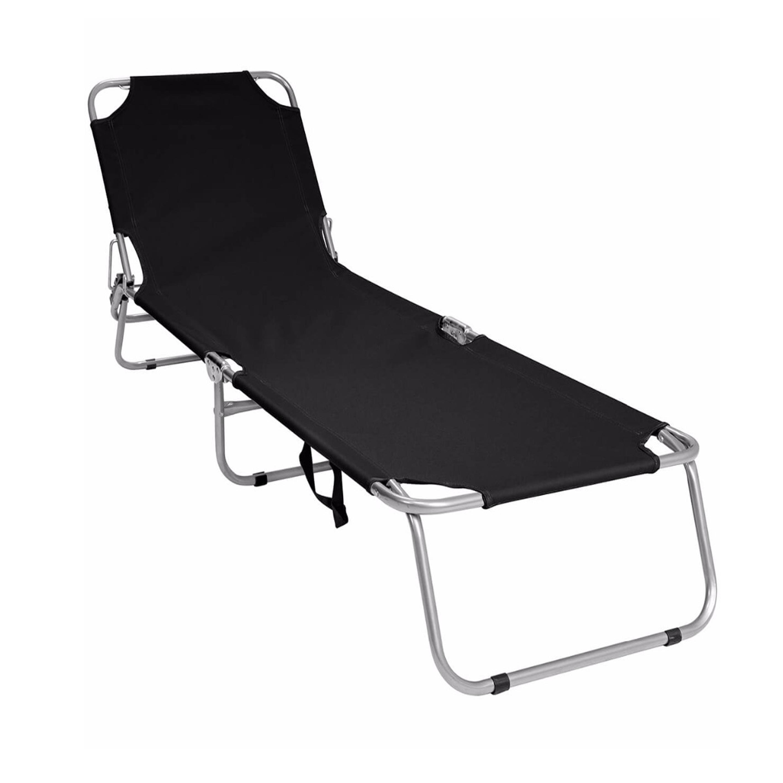 Folding Sun Lounger Lightweight Chair