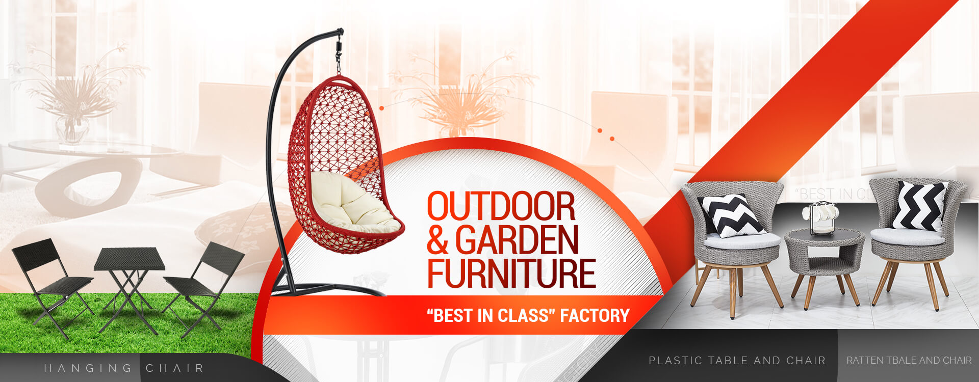 swing chair manufacturer