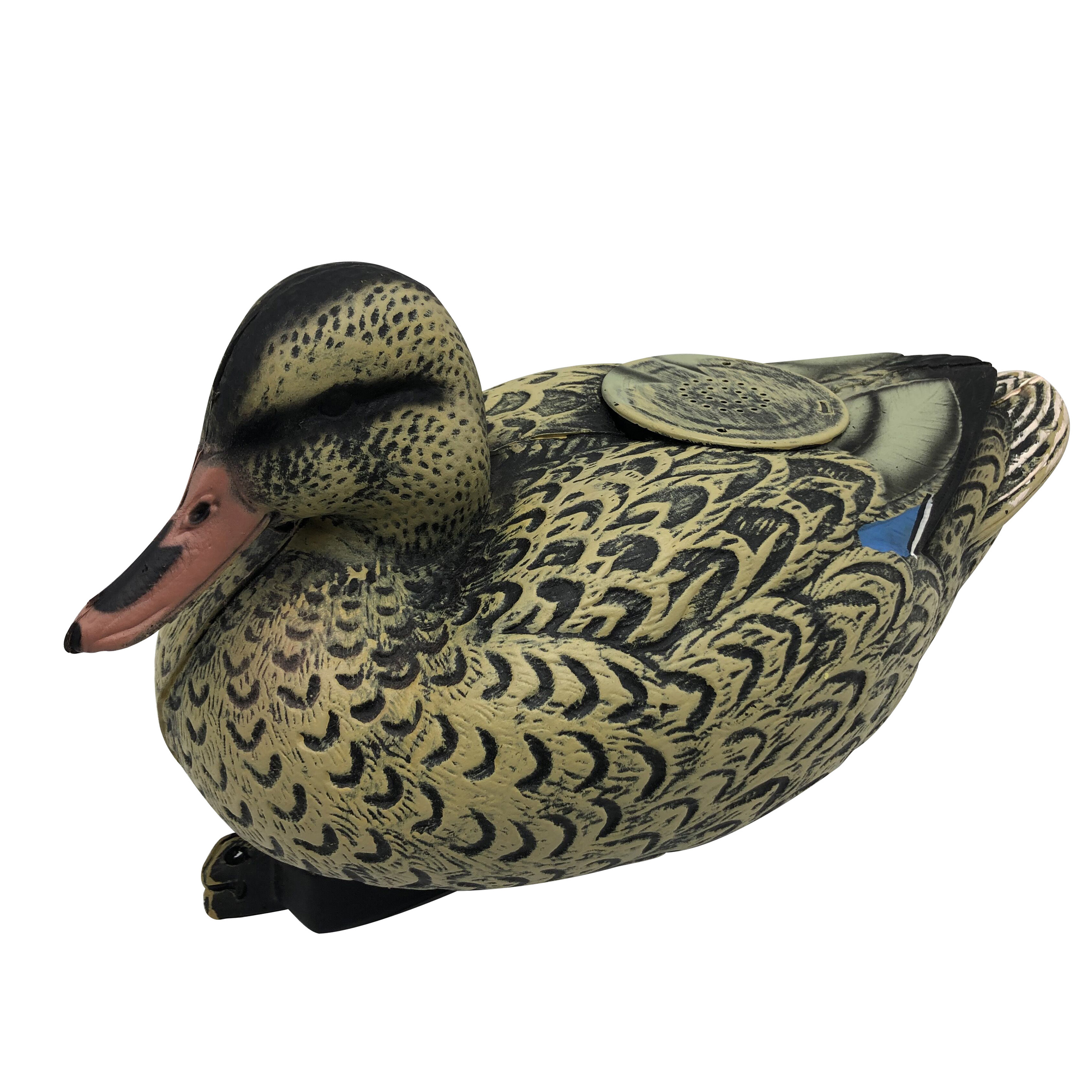 Duck Decoy With Electronic Call