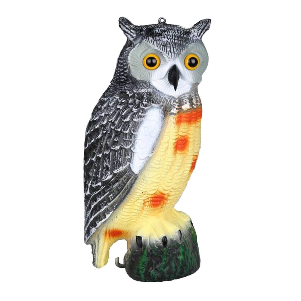 Owl Decoy Hunting For Garden Decoration