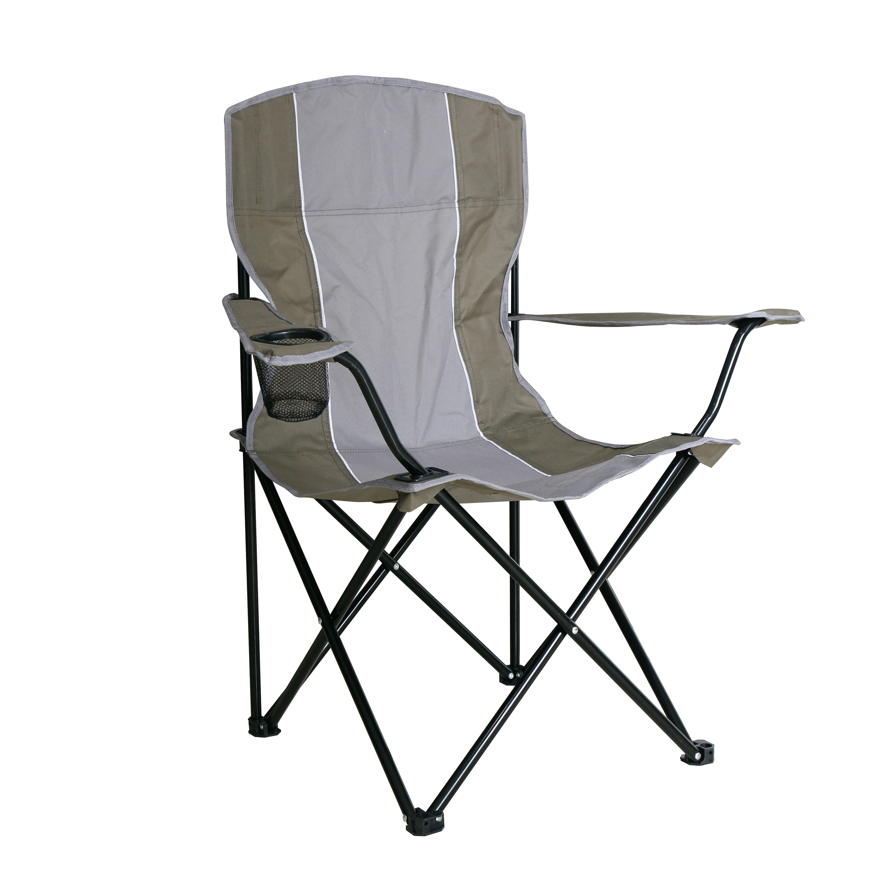 Folding Picnic Camping Chair With Cup Holder